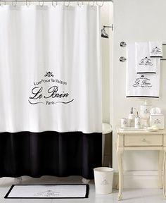 Kassatex Bath Accessories, Le Bain Shower Curtain - Shower Curtains & Accessories - Bed & Bath - Macy's