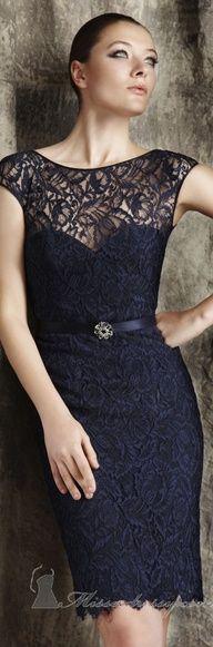 Elegant cocktail dress bu Theia