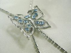 FREE SHIPPING Vintage Butterfly Bolo Necklace by FerryCreekVintage, $22.95