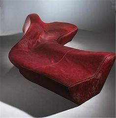 Zaha Hadid. Moraine sofa. Sawaya & Mo