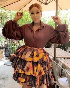 african fashion ankara Ankara Fashion Styles Pictures: 100 Unique and Stylish pictures of Ankara styles for Ladies to Try out African Print Skirt, African Print Dresses, African Print Fashion, Africa Fashion, African Prints, African Fabric, Short African Dresses, Latest African Fashion Dresses, Ankara Fashion