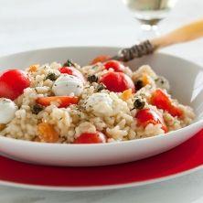 Piccobello risotto met mozzarella - Recepten - Verse Oogst