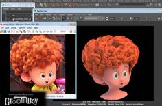 Making of Dennis Curly Hair Groom Using Groomboy ToolsetsComputer Graphics & Digital Art Community for Artist: Job, Tutorial, Art, Concept Art, Portfolio