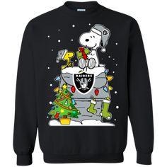Oakland Raiders Ugly Christmas Sweaters Snoopy Hoodies Sweatshirts