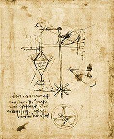 Doccia Mill at Vinci in a drawing by Leonardo (Codex Atlanticus).