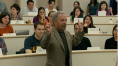 Robert Reich, former Secretary of Labor, teaches a class in scene from At Berkeley.