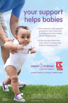 Kmart March for Babies In-Store Fundraising Program by Andy Brown, via Behance