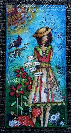 she art ~ she knew she was loved