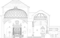 bab arquitectos restauracion cupulas monasterio de santo domingo el real toledo