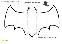 kit récréatif Halloween chauve-souris