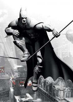 Batman: Arkham City - Armored Edition Concept Art