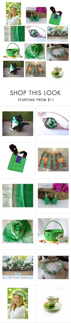 """Amazing Gifts on Etsy"" by anna-recycle ❤ liked on Polyvore featuring modern, rustic and vintage"