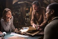 Russell Hornsby, Silas Weir Mitchell, and Bree Turner in Grimm Grimm Film, Nbc Grimm, Grimm Tv Series, Grimm Tv Show, Grimm Season 5, Bree Turner, Nick Burkhardt, Star Crossed, Tv Episodes