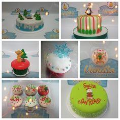 Tortas y cakes navideños