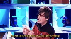 PJ was Dan's best man, Chris was Phil's