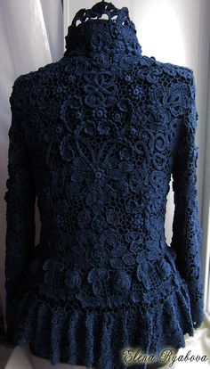 Captivating Crochet a Bodycon Dress Top Ideas. Dazzling Crochet a Bodycon Dress Top Ideas. Crochet Coat, Crochet Cardigan, Crochet Clothes, Crochet Lace, Knit Dress, Freeform Crochet, Irish Crochet, Pretty Outfits, Beautiful Outfits