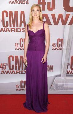 Emily VanCamp at CMA awards 2011