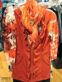 Today's Boutique • www.todaysdestin.com • ORANGE is so IN!