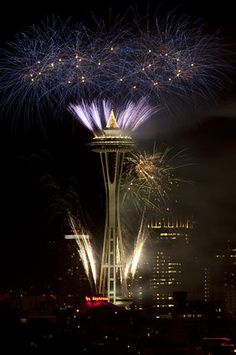 Seattle, Space Needle 1-1-12