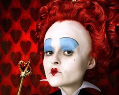 The Red Queen from Alice In Wonderland -- bizzare