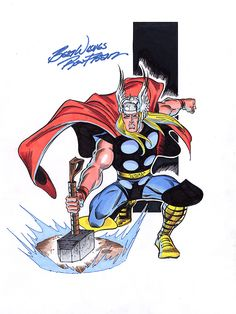 Thor Classic by Ron Frenz