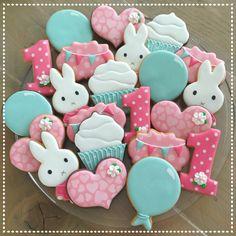 Nijntje (Miffy) birthday cookies set.