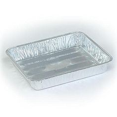 3PK 9x6.25 Broiler Pan -Small Disposable Broiler Pan -2 Packs (Total 6 Peices) * For more information, visit image link.