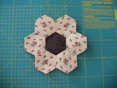 Las Telitas de Marisa: Otra forma de hacer hexágonos