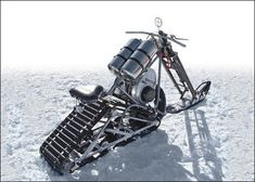 10 Really Odd Snow Vehicles