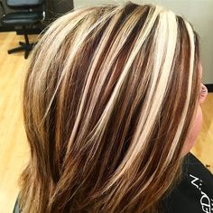 1000 Images About Streaked Hair On Pinterest Chunky
