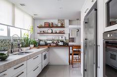 Obra deca na cozinha #cozinhas modernas #reformas rápida #obra seca # cozinhas