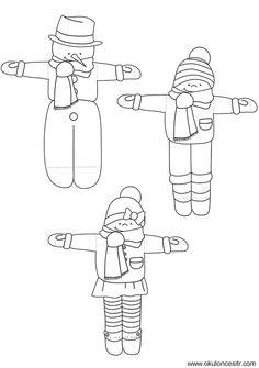 Yeni yılbaşı etkinlikleri çalışması ve kayak yapan çocuklar yeniyıl sanat etkinliği yapımı örnekleri ile çalışmaları paylaşımları sitesi. Preschool kindergarten new year craft activities site.  KALIP Resmi İndir