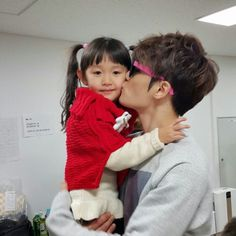 Jaejoong and niece
