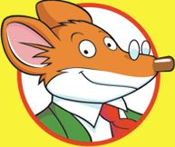 """Geronimo Stilton's books was one of my favorite book series when I was young. When I was in first grade until now, I always read of his books! Geronimo Stilton is a very sensitive mouse. He """"squeaks"""" about all of his adventures."""