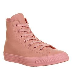 Converse All Star Hi Leather Baby Pink Exclusive - Unisex Sports