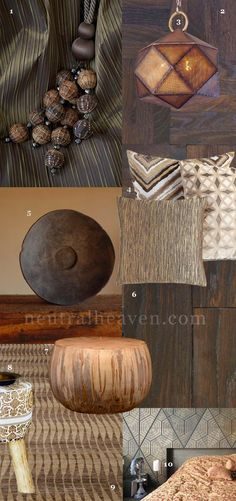 NEUTRAL HEAVEN - Interior Design and Mood Creation: *Monthly Mood Creation - Rich Earthy Brown