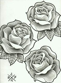 Tattoo rosas V