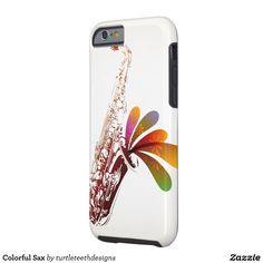Colorful Sax iPhone 6/6s Case