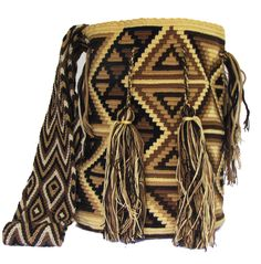 Buy Wayuu Bags Online-Colombian Bags Retailers and Wholesalers-Suscribe and Get 3 FREE Wayuu Bracelets with your first purchase! Tapestry Bag, Tapestry Crochet, Tribal Bags, Light Pink Color, Dark Brown Color, Turquoise Color, Electric Blue, Handmade Bags, Pattern