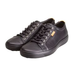 Ecco Soft 7 Men Casual shoes Sneaker Leather New trainer black 430004-51707  #ECCO #Trainers