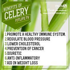 health benefits of celery | Benefits of celery | Health & Beauty | Pinterest