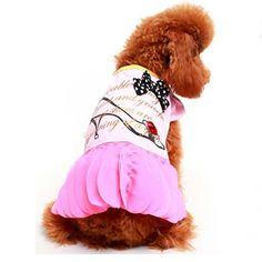 Vestido Scarpin Rosa Gutti Pet - MeuAmigoPet.com.br #petshop #cachorro #cão #meuamigopet