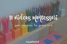 Videos Montessori Fun Learning, Learning Activities, Teaching Kids, Elementary Spanish, Elementary Schools, Reggio Emilia, Montessori Preschool, Montessori Materials, Tot School