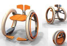 Sedia elettrica pieghevole, soluzione alla moda per la mobilità dei disabili