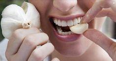 Ponha 1 dente de alho na boca e deixe nela por 30 minutos - os resultados vão…