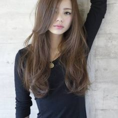 田中 紗貴 - HAIR Hair Inspo, Hair Inspiration, Straight Hairstyles, Girl Hairstyles, Medium Hair Styles, Curly Hair Styles, Hair Arrange, Asian Hair, Up Girl