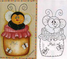 Art'sanália : Riscos de ursinhos