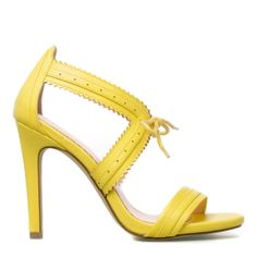 YELLOW has taken over EVERYTHIING in my life in the last two days. Get wid the yellooou. Loretta - ShoeDazzle