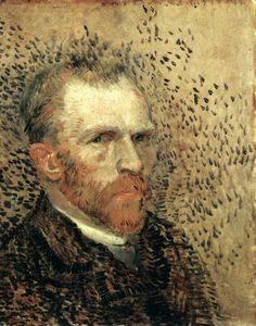 GOGH, Vincent van Self-Portrait Spring-Summer 1887, Paris Oil on canvas, 41 x 33 cm Rijksmuseum Vincent van Gogh, Amsterdam