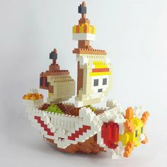 « Thousand Sunny  Bought from @nanoblocks_id #collection #mytoy #nanoblock »